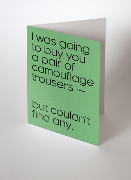 TT 7x5 Greetings Cards Set 02 Camouflage trousers 680x927px